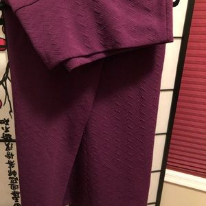 Large purple Cassie